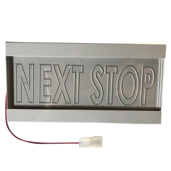 NEXT-STOP SIGN for bus
